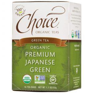 Органический японский зеленый чай Choice, 16 шт.