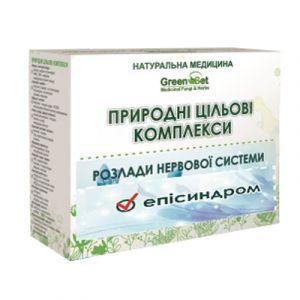Эпилепсия, эписиндром, GreenSet, природный целевой комплекс, курс 2, растительные препараты, 4 шт