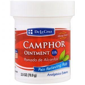 Камфорная мазь, Camphor Ointment, De La Cruz, 70,9 г