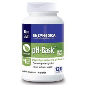 Ферменты рН баланс, Enzymedica, 120 кап.