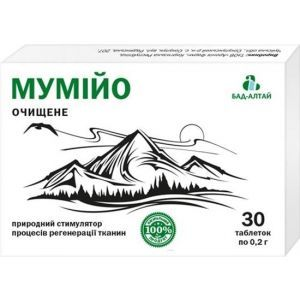 Мумие очищенное, Арония Фарм, 60 таблеток