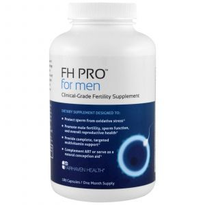 Репродуктивное здоровье мужчин, Clinical Grade Fertility Supplement, Fairhaven Health, 180 кап.