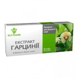 Экстракт гарцинии, ЭЛИТ-ФАРМА, для похудения, 80 таблеток