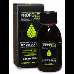 Водный экстракт прополиса, пчелиного подмора и восковой моли, «PROPOLEX»® trinity, 100 мл.