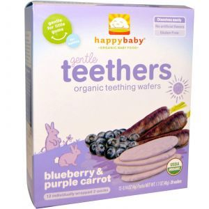 Печенье для прорезывания зубов, Gentle Teethers, Nurture Inc, 12 шт.