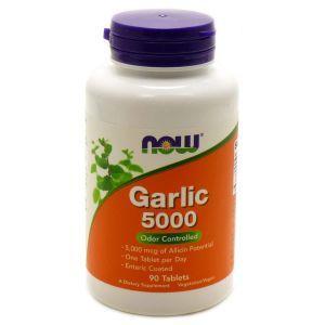 Чеснок 5000, экстракт, Garlic, Now Foods, 90 та