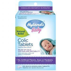 Таблетки от детских коликов, Colic Tablets, Hyland's, 125 таб.