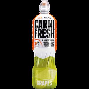L-карнитин, жиросжигатель, Carnifresh, Extrifit, напиток со вкусом винограда, 850 мл