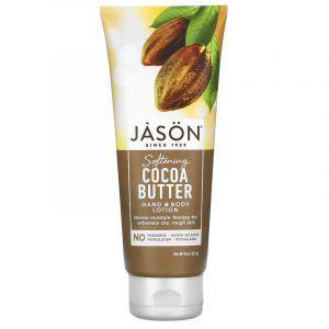 Лосьон для тела и рук, масло какао, Hand & Body Lotion, Jason Natural, 227 г