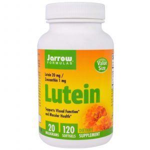 Лютеин, Lutein, Jarrow Formulas, 20 мг, 120 капсул