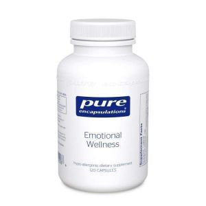 Эмоциональное Здоровье, Emotional Wellness, Pure Encapsulations, 120 капсул