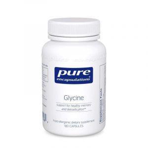 Глицин, Glycine 180's, Pure Encapsulations, 180 капсул