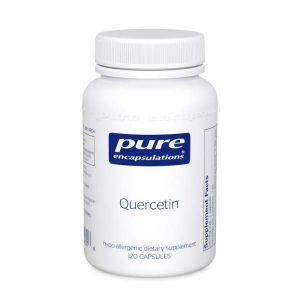 Кверцетин, Quercetin, Pure Encapsulations, 120 капсул