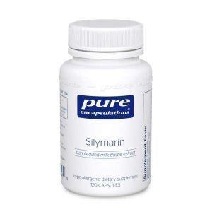 Силимарин, Silymarin, Pure Encapsulations, 120 капсул
