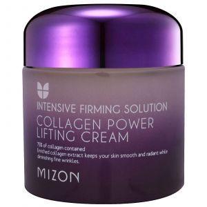 Подтягивающий крем с коллагеном, Collagen Power Lifting Cream, Mizon, 75 мл