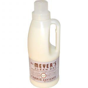 Кондиционер для белья, (Fabric Softener), Mrs. Meyers Clean Day, 946 мл