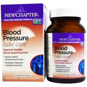 Поддержка артериального давления, Blood Pressure, New Chapter, 60 капсул