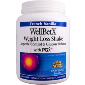Формула (WellBetX) потери веса, Natural Factors, 854 г