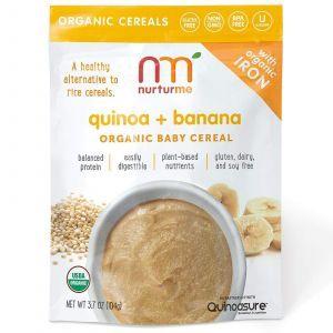 Натуральная детская каша, Quinoa + Banana, NurturMe, 104 г
