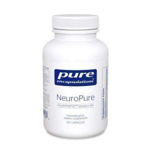 Всесторонняя поддержка нейромедиаторов NeuroPure, NeuroPure, Pure Encapsulations, 120 капсул