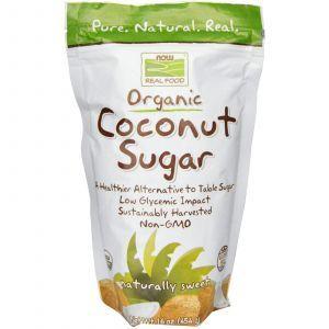 Кокосовый сахар, Now Foods, 454 г