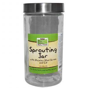 Проращиватель, (Sprouting Jar), Now Foods, 1/2 галлона