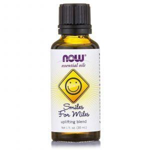 Эфирные масла смесь, (Essential Oils, Smiles for Miles), Now Foods, 30 мл