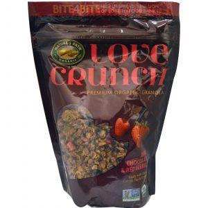 Хрустящие мюсли (шоколад и ягоды), Love Crunch, Nature's Path, 325 г.