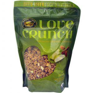 Хрустящие мюсли (яблоко и корица), Love Crunch, Nature's Path, 325 г.