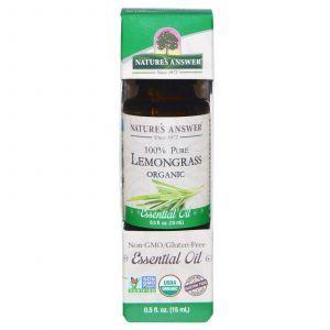 Органическое эфирное масло лимонника, Nature's Answer, 15 мл