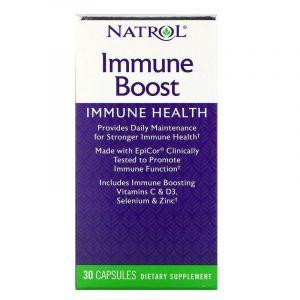 Укрепление иммунитета с эпикором, Immune Boost, Natrol, 30 капсул