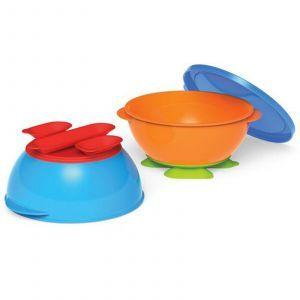 Тарелки с присосками, ( Tri-Suction Bowls), NUK, 2 шт
