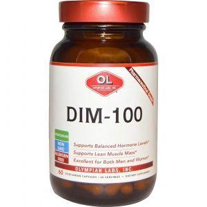Дииндолилметан DIM-100, Olympian Labs Inc, 60 кап.