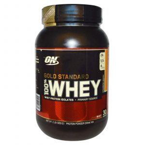 Сывороточный протеин (Gold Standard Whey),Optimum Nutrition, 909г