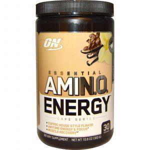 Амино энергия (Amino Energy) ваниль кофе, Optimum Nutrition, 300 г