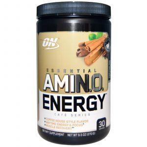 Амино энергия (Amino Energy) чай и лате, Optimum Nutrition, 270 г