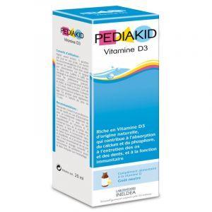 Витамин D3, для детей, (Vitamin D3 ), Pediakid, 20 мл
