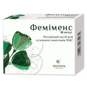 Фемименс, облегчение симптомов ПМС, Ananta Medicare, 30 капсул