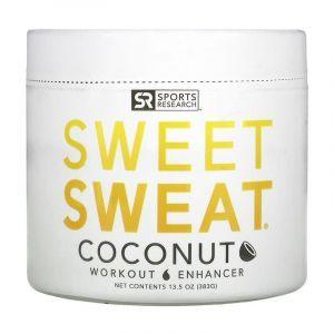 Предтренировочный комплекс, гель с кокосовым ароматом, Workout Enhancer, Sports Research, 383 г