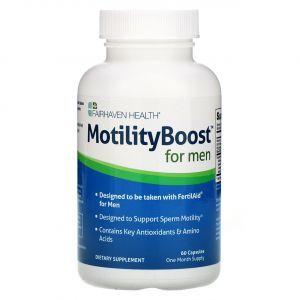 Репродуктивное здоровье мужчин, MotilityBoost for Men, Fairhaven Health, 60