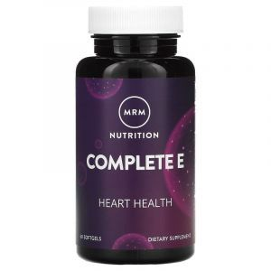 Витамин Е, Vitamin E, MRM, 60 капсул
