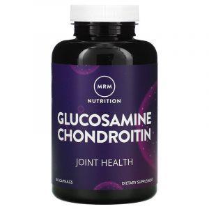 Глюкозамин, хондроитин, Glucosamine Chondroitin, MRM, 1500 мг/1200 мг, 180 капсул