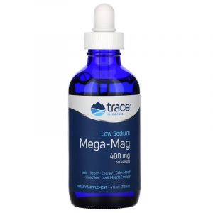 Ионный магний с минералами,Ionic Magnesium with Trace Minerals, Trace Minerals Research, 400 мг, 118 мл