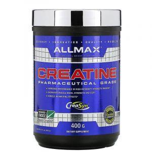 100% Измельчённый Чистый Немецкий Креатин, Pure Micronized Creatine, ALLMAX Nutrition, 400 гр.