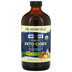 Яблочный уксус органик, Apple Cider Vinegar, Dr. Mercola, 473 м