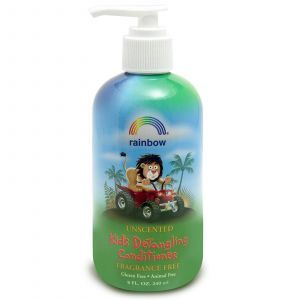 Детский кондиционер для волос, без запаха, Kid's Detangling Conditioner, Rainbow Research, 240 мл