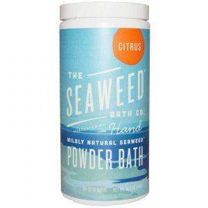 Порошок для принятия ванны, Powder Bath, Citrus, Seaweed Bath Co., 476 г