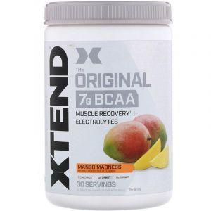 BCAA, Манго, XTend, Scivation, 420 гр.