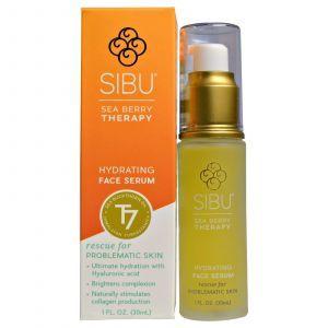 Сыворотка с облепихой, Oil Hydrating Serum, Sibu Beauty, 30 мл