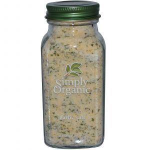 Чесночная соль, Garlic Salt, Simply Organic, 133 г